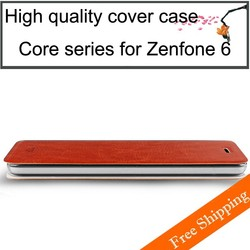 High quality mofi case for mobile phone flip cover leather phone case for asus zenfone 6