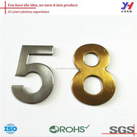 OEM ODM house numbers and brass letters/custom made house numbers