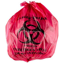 Factory wholesale red disposable medical waste bag for hospital with low price and top quality