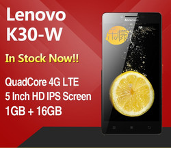 Lenovo Lemon K3 K3W 4G FDD LTE Qualcomm Snapdragon Quard Core 1GB RAM 16GB ROM 5.0inch Android 4.4 Mobile Phone