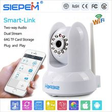 best sale wifi ip camera for home use, Onvif+P2P+Smartlink funtion
