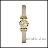 Stainless steel case Petite Ladies Stone Set Watch - W0125L4,lady watch,Women's watch with quartz movement