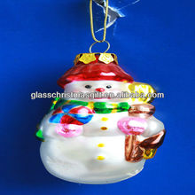 2016 hot sale product fashion and best selling christmas glass ornament,Trade Assurance supplier