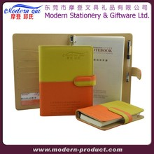 diary&planner&organizer&pu leather notebook for promotion