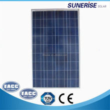 china factory solar system with 12v cheap price polycrystalline 140w solar pv panel module