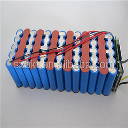 48 volt lithium battery pack 10Ah for electric bike