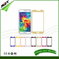 2.5 D 0.33 /0.4 mm factory supply color full screen covered protector tempered glass screen protector for Samsung galaxy S4