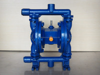 Cast iron diaphragm reciprocating pump for oil paint