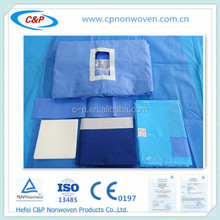 Disposable and reliable Lithotomy drape set made in china