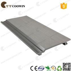 coowin elegant shape design wood plastic composite wall siding