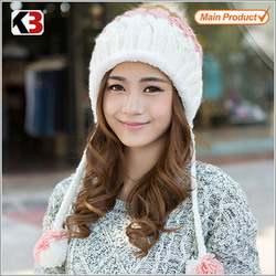 2015 Winter outdoors bluetooth skiing knitted hat