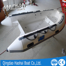 CE 11.8ft 3.6m fishing boats fast rescue boats fiberglass inflatable boats