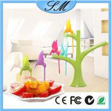 plastic fruit fork, Lovely Birdie Fruit Fork , fruit fork set
