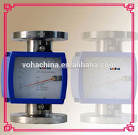 metal tube flow meter sensor 4-20ma