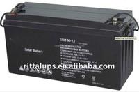 12V150AH for solar battery