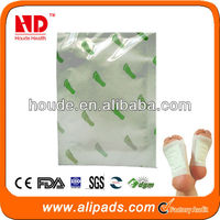 With FDA CE Approved OEM ODM Service Japanese Detox Foot Patch Wholesaler
