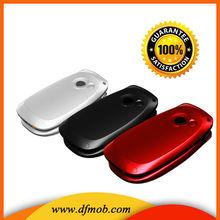 Flip Elder Mobile Phone 2.2INCH QVGA GSM GPRS/WAP Dual SIM Card Quad Band MTK6260 SOS Big Keyboard Big Font Senior Cellphone T03