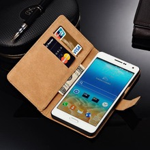 New Arrival High quality genuine Leather Case For Samsung Galaxy A3/A5/A7 Case Flip Luxury Mobile Phone Cover