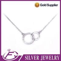 Classic design bling bling stone 925 sterling silver jaipuri jewellery
