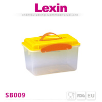 airtight plastic rice container with locking lids for 10kg