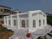 White inflatable party tent for event or party