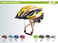 colourful printed adult bmx men open mould moutain bike helmet