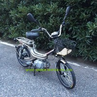 35CC moped motocicleta cheap moped with pedal bike motorcycle