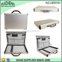 Custom cheap lock business aluminum case briefcase