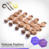 Formal High-End Handmade Remy Virgin Remy Human Hair Extensions Soprano Wave Bundles