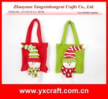 hanging xmas shopping bags felt christmas gift bag for friends