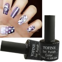 Wholesale gel lacquer- vans three step gel nail polish for nail art use