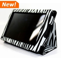 Flip Zebra Printing PU Leather Tablet Case For Amazon Kindle Fire HD