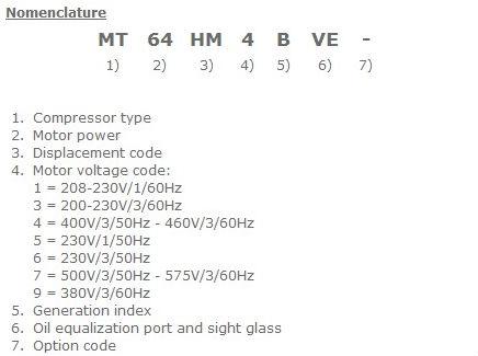 Cheap Refrigeration Compressor MT125