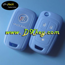 Low price 2 button car key cover for rubber car key cover for silicone key fob cover