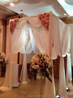 Cheap ! Aluminum pipe and drape system/wedding backdrops for sale/used pipe and drape for sale