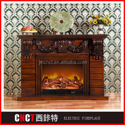 cheap freestanding fancy carved indoor marble fireplace home use