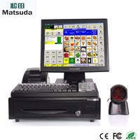 Point Of Sale Easy Operation Pos System Machine with restaurant software