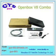 Original Openbox V8 Combo Full twin tuner HD Satellite Receiver