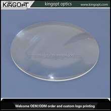 Acrylic plastic magnifying optical glass double convex lens