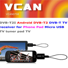 New android mini dvb-t2/t usb tv tuner for Phone Pad Micro USB TV tuner wholesale