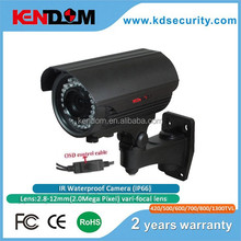 Beautiful Metal Gray 720P IP66 Weatherproof 40m Night vision bullet camera CCTV HD Camera