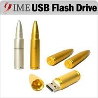 Metal Bullet USB Flash Drive Usb PenDrive Real Capacity 4gb 8gb 16gb 32gb 64gb Pendrive Car Key Chain Ring Usb Stick WaterProof