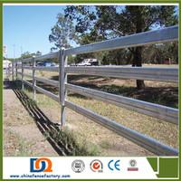 Metal livestock farm fence panels