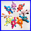 Newest design kids hair accessories fabric flower elastic baby hair band