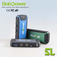 External Cellphone Battery Packs 16000mAh portable car jump starter power bank
