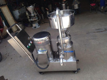 green soy bean and cocoa bean grinder