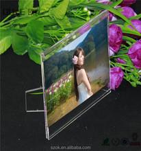 Encargo transparente de acrílico alta calidad funia marco