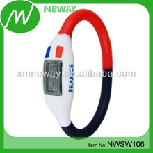 Promotional casual silicone sport football watch
