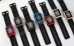 Best Selling Products Silicone Watch Strap with metal case for apple watch , for apple watch band 38mm/42mm