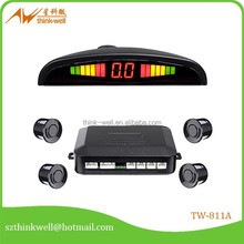 Numerical and color LED display car parking sensor system,car parking sensor,parking sensor